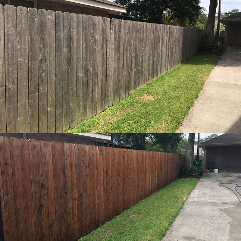 fence washing new orleans